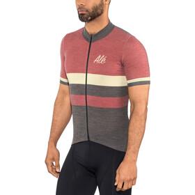 Alé Cycling Classic Vintage SS Jersey Herren bordeaux